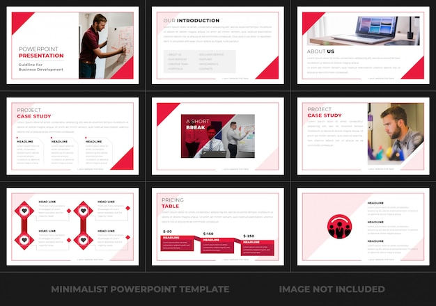 Powerpoint-präsentation für unternehmen