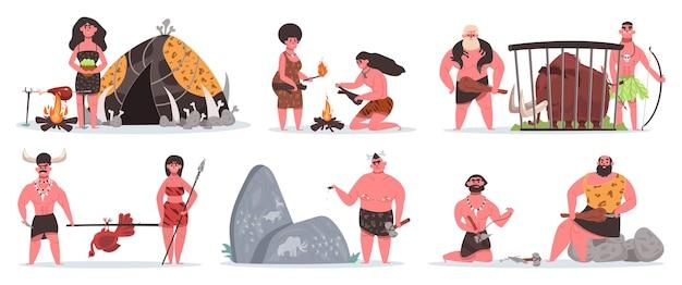Prähistorische charaktere