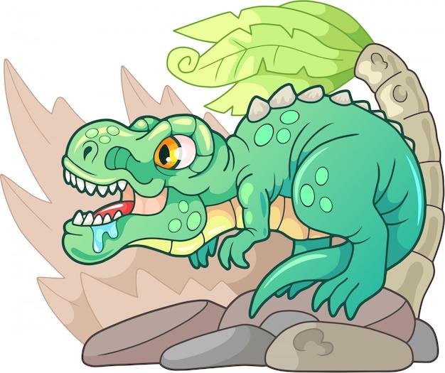 Prähistorischer tyrannosaurus