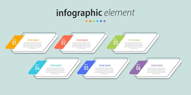 Präsentation infografik