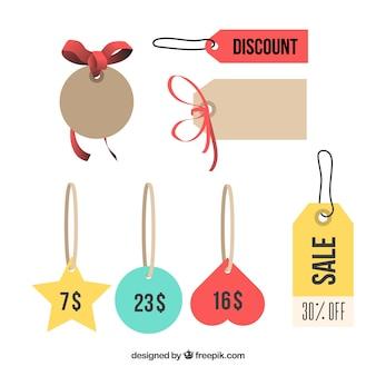 Preis tags und labels