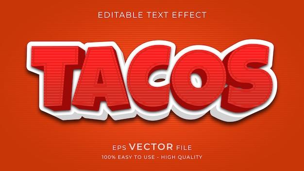 Premium bearbeitbarer texteffekt