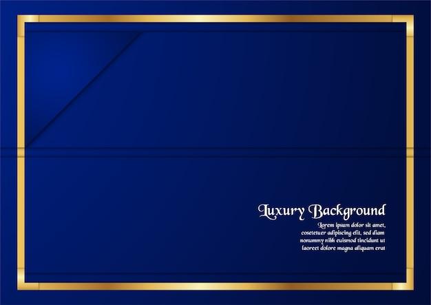 Premium-cover-business-präsentation, web-banner, hochzeitseinladung und luxusverpackungen