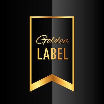 Premium-etiketten-design