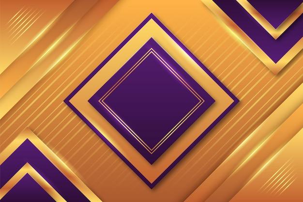 Premium goldener luxuriöser hintergrund