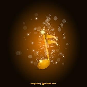 Premium-hochglanz-musik-vektor-hintergrund