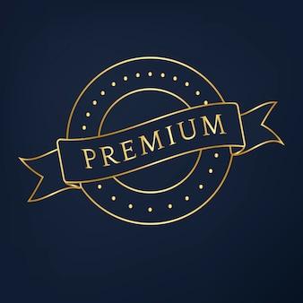 Premium-Kollektion Abzeichen Design Vektor