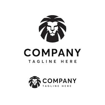 Premium lion logo vorlage
