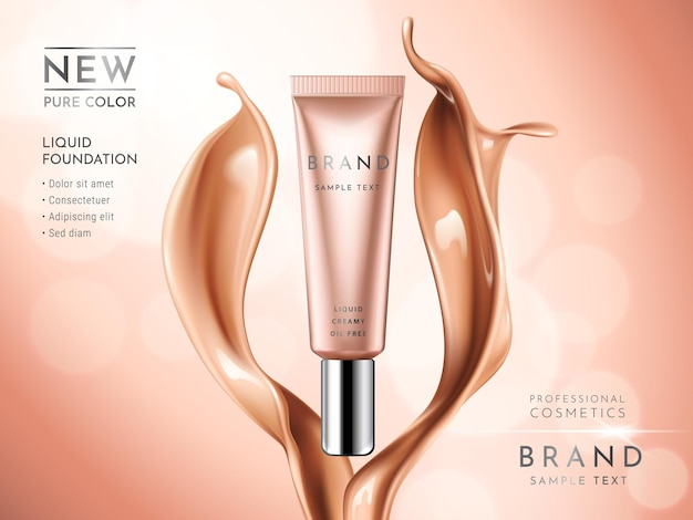 Premium liquid foundation anzeigen.
