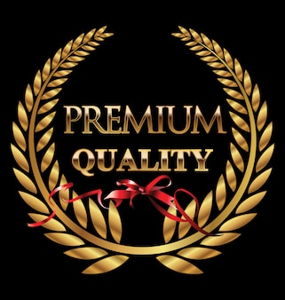 Premium-lorbeerkranz
