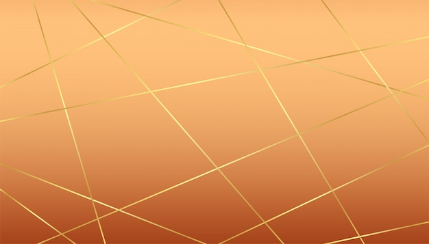 Premium luxus hintergrund mit goldenen linien und pastell hintergrund