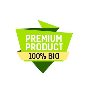 Premium produktbeschriftung