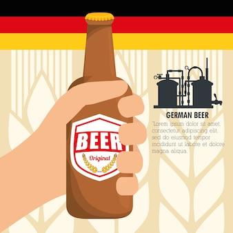 Premium-qualität deutsches bier