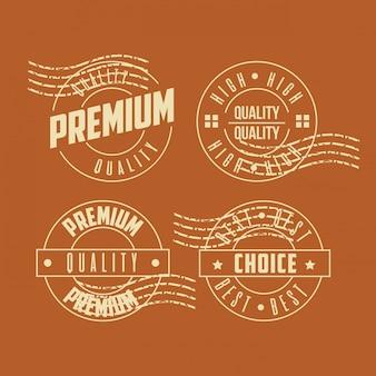 Premium-qualitätsstempelset