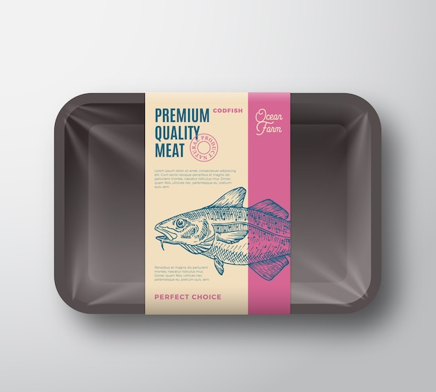 Premium quality codfish container