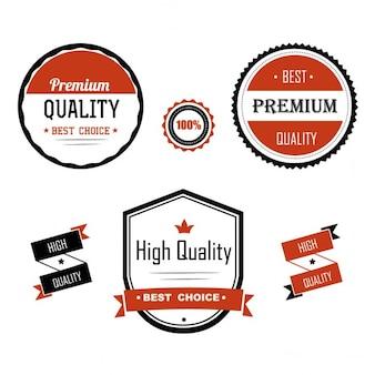 Premium quality etiketten
