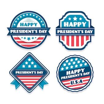 President's day event mit etikettensammlung