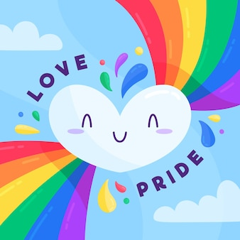 Pride day event-stil