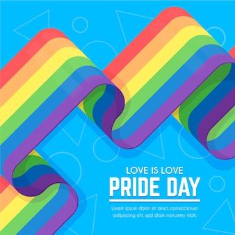 Pride day flag hintergrund