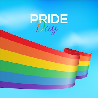 Pride day flag konzept