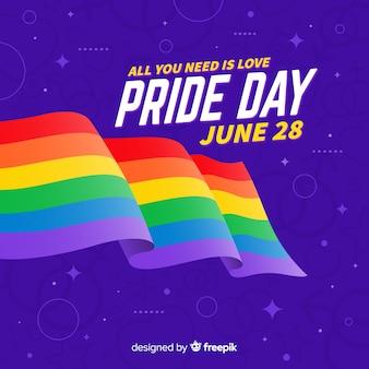 Pride day flagge