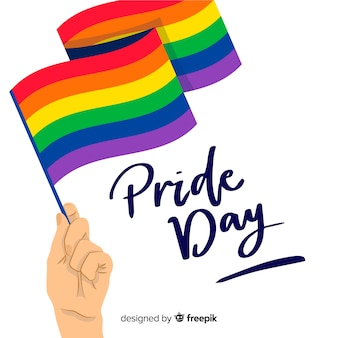 Pride day flagge