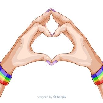 Pride day-konzept