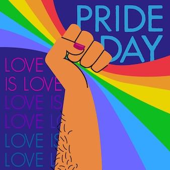 Pride day konzept