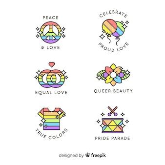 Pride day labels-auflistung