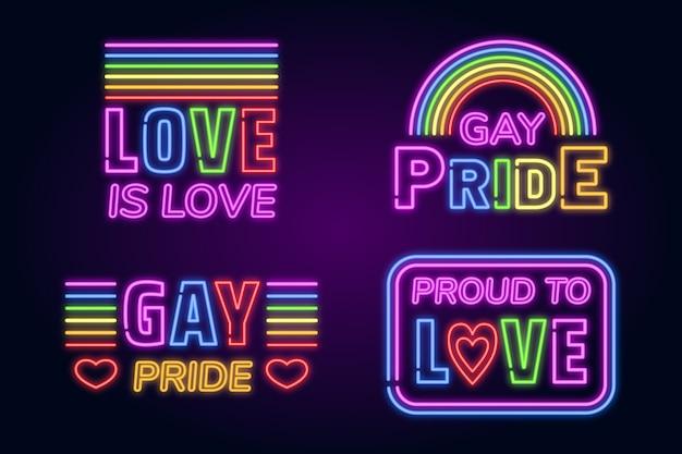 Pride day leuchtreklamen