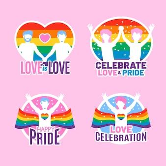 Pride day neonabzeichen
