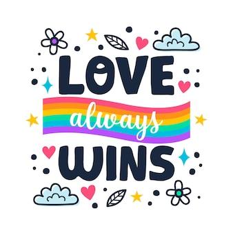 Pride day schriftstil