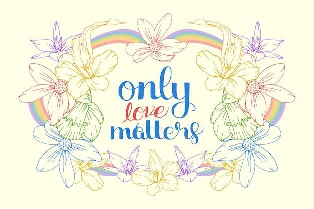 Pride day schriftzug nachricht