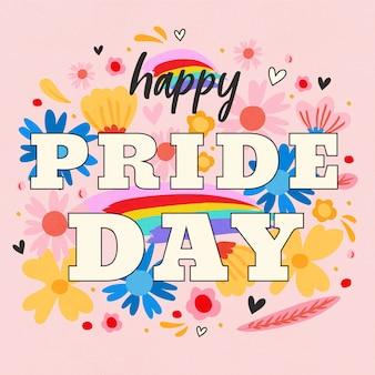 Pride day schriftzug