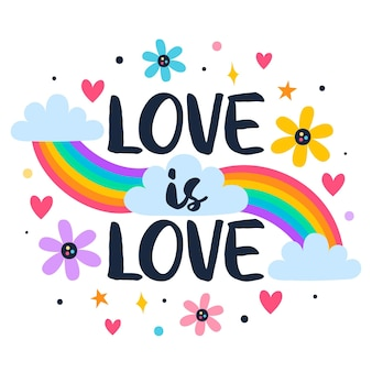 Pride day schriftzugsthema