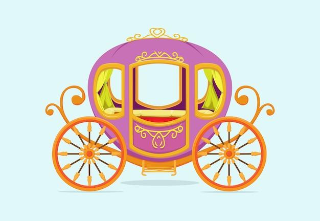 Prinzessin carriage cartoon