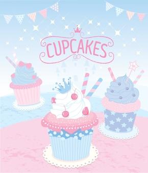 Prinzessin cupcakes