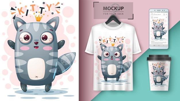 Prinzessinkatze und merchandising