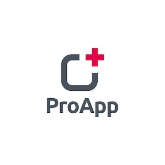 Pro app symbol logo
