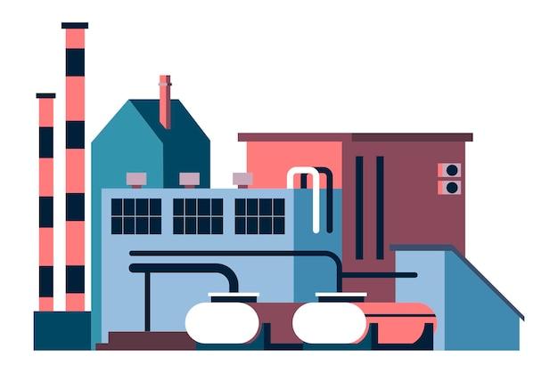 Produktionsgebäude der fabrik- oder anlagenindustrie