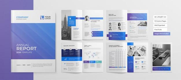 Professionelle broschüre oder business-präsentation