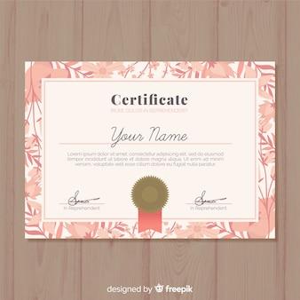Professionelle zertifikatvorlage