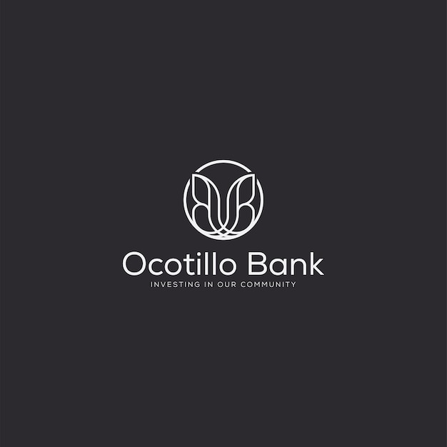 Professioneller luxus-logo-schmetterling