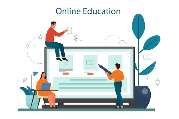 Professioneller online-dienst oder plattform für schriftsteller oder journalisten