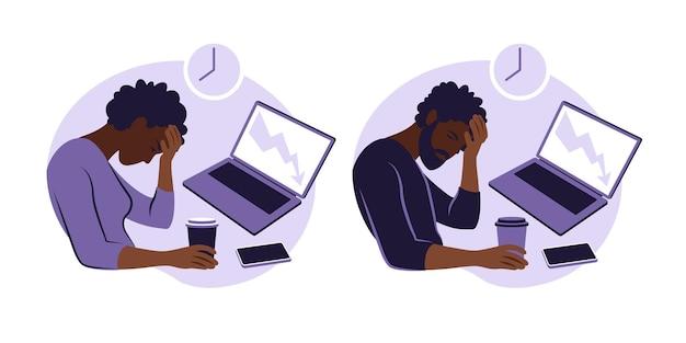 Professionelles burnout-syndrom