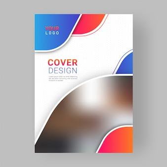 Professionelles business-deckblatt-design