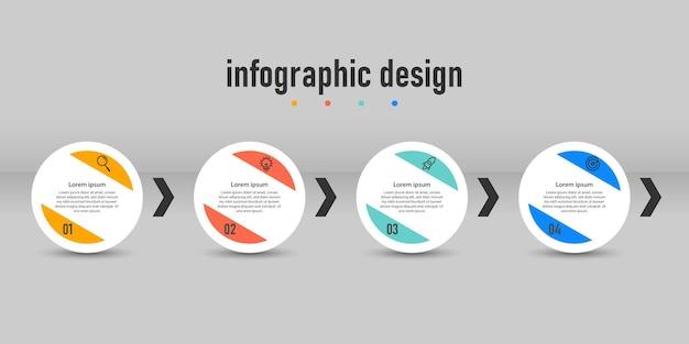 Professionelles infografik-design