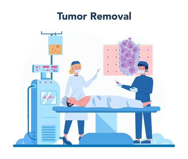 Professionelles onkologenkonzept
