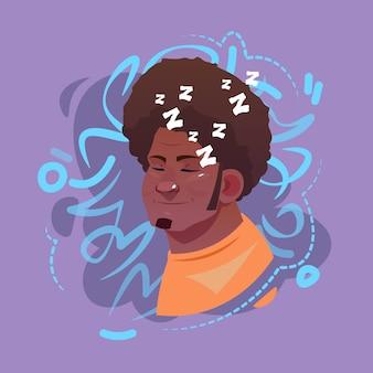Profil-ikonen-arabischer männlicher gefühl-avatar