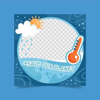 Profilbild klimawandel facebook frame